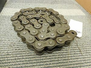 No Name Roller Chain 100 100 1 4 Ft Length no Connecting Link