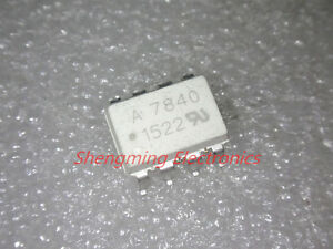 50pcs Smd A7840 Hcpl 7840 Optocoupler Sop 8 Ic New