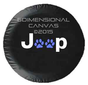 Jeep Paws Jeep Spare Tire Cover