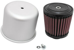 K n Rubber Mounting Flanged Covered Air Filter 1 Flange Diameter 3 5 Height