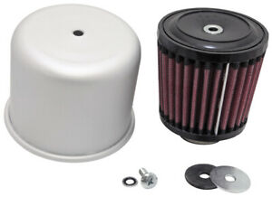 K n Rubber Mounting Flanged Covered Air Filter 1 25 Flange Diameter 3 5 Height