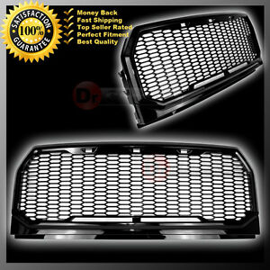 Raptor Conversion Gloss Black Mesh Grill Grille Shell 15 16 Ford F150 2017 2016