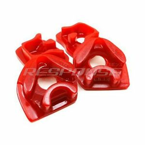 Energy Suspension Motor Mount Inserts Red For Civic Ep3 Integra Rsx Dc5 Type R