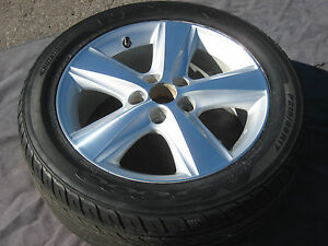 1 Single Used 17 Factory Toyota Camry Oem Wheel Rim Tire 2010 11