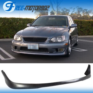 For 01 05 Lexus Is300 Altezza Sxe10 Tr Style Front Bumper Lip Urethane