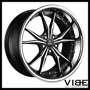 19 Vertini Dark Knight Machined Wheels Rims Fits Mercedes W220 S430 S500