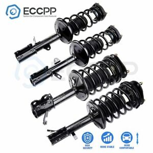 For 1993 2002 Toyota Corolla Quick Complete Struts Shock Coil Spring Assembly X4
