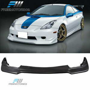 For 00 01 02 Toyota Celica Vip Style Front Bumper Lip Spoiler Urethane