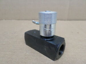 Parker Hydraulics 9f600sf Flow Control Valve