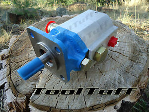 11 Gpm Hyd Log Splitter Pump 2 Stage Hi Lo Gear Pump Counter Cw Rotation