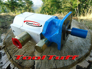 16gpm Hyd Log Splitter Pump 2 Stage Hi Lo Gear Pump Counter Cw Rotation