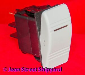 2 Position 3 Terminal Lighted Carling Contura Rocker Switch On off Spst 12971