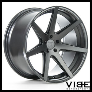 19 Rohana Rc7 Graphite Concave Staggered Wheels Rims Fits Acura Tl