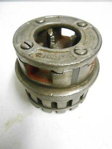 Ridgid 1 Pipe Threading Die Head 12r Pipe Threader Rigid