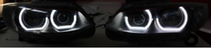Angel Eyes Dtm Style E92 E93 E90 M4 Style For Bmw 3 Series Headlights