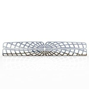 Grille Insert Guard Spiderweb Polished Stainless Fits 94 01 Dodge Ram 1500