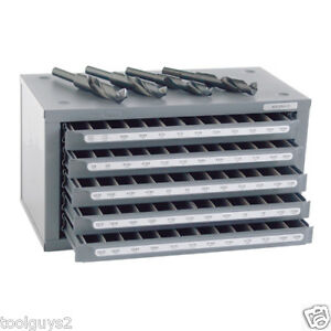 Huot S d Reduced Shank Drill 33 64 To 63 64 Dispenser Organizer Cabinet 13166