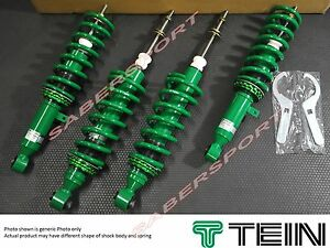 Tein Street Basis Coilovers Made In Japan For 1989 1991 Honda Civic Crx