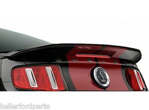 New Oem Rear Shelby Cobra Spoiler With Gurney Flap 2010 11 12 13 14 Ford Mustang