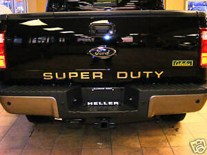 2010 2016 Ford F250 F350 F450 Super Duty Tailgate Lettering