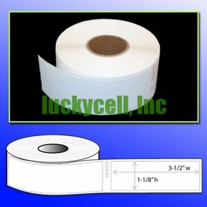 24 Rolls Of 260 Address Labels In Mini cartons For Dymo Labelwriters 30320