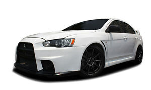 08 15 Mitsubishi Lancer Duraflex Evo X Look Body Kit 12pc 107005