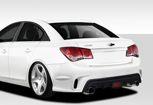 11 15 Chevrolet Cruze Duraflex Gt Racing Rear Bumper 1pc Body Kit 109504