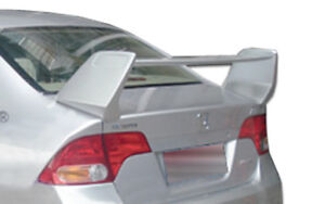 06 11 Honda Civic 4dr Duraflex R Spec Wing Trunk Lid Spoiler 1pc Body Kit 104431