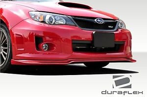 11 14 For Subaru Impreza Wrx Sti Duraflex Vr s 2 Front Lip 1pc Body Kit 108703