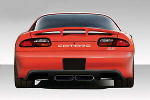 93 97 Chevrolet Camaro Duraflex Zr Edition Rear Bumper 1pc Body Kit 108842