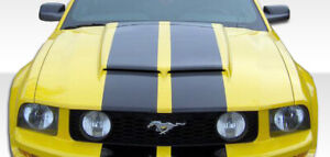 05 09 Ford Mustang Duraflex Gt R Hood 1pc Body Kit 104848