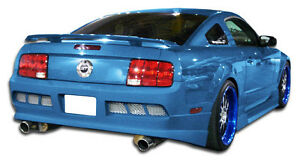 05 09 Ford Mustang Duraflex Gt Concept Rear Bumper 1pc Body Kit 103637