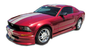 05 09 Ford Mustang V6 Duraflex Racer Body Kit 4pc 110214