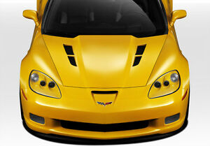 05 13 Chevrolet Corvette C6 Duraflex Gt Concept Hood 1pc Body Kit 109534
