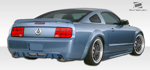 05 09 Ford Mustang Duraflex Hot Wheels Rear Bumper 1pc Body Kit 106137