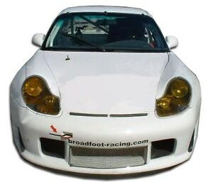 99 01 Porsche 996 C2 C4 Duraflex Gt3 r Look Wide Body Front Splitter 1pc 105401