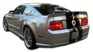 05 09 Ford Mustang Duraflex Cvx Rear Lip Air Dam 1pc Body Kit 104920