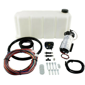 Aem V2 Water Methanol Injection Kit 5 Gallon For Turbo Diesel Engines 30 3301
