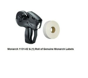 New Monarch 1131 02 With 2 500 Labels Ink Roller free Shipping lowest Price