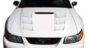 99 04 Ford Mustang Duraflex Demon Hood 1pc Body Kit 104841