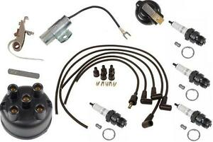 Complete Tune Up Kit For Ih Farmall Tractors With Horizontal Distributor 1939 79