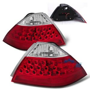 2006 2007 Honda Accord Lx ex exl Sedan 4dr Taillights Assembly Pair New