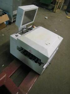 Bell Howell Mail Sorting System With Digital Screen Jet Vision X1