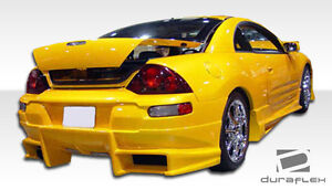 00 05 Mitsubishi Eclipse Duraflex Bomber Rear Bumper 1pc Body Kit 100116