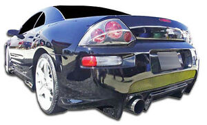 00 05 Mitsubishi Eclipse Duraflex Xplosion Rear Bumper 1pc Body Kit 105576