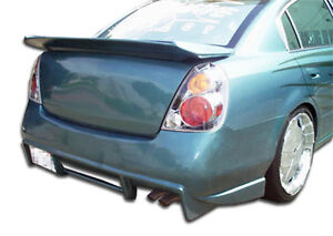 02 06 Fits Nissan Altima Duraflex R33 Rear Bumper 1pc Body Kit 100381