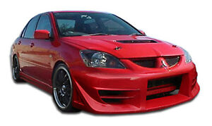 04 07 Mitsubishi Lancer Duraflex Walker Body Kit 4pc 110697