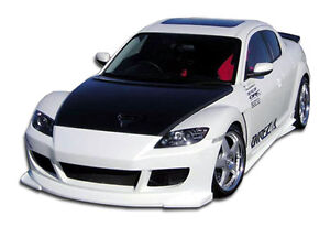 04 08 Mazda Rx 8 Duraflex Velocity Body Kit 4pc 110655