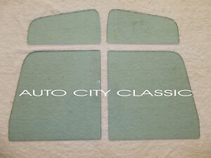 Vent Door Glass Green Tint Ford Pickup And Panel Truck 1957 1958 1959 1960