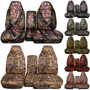 Cc 91 97 Ford Ranger Camo Car Seat Covers 60 40 Or No Console Cover Choose